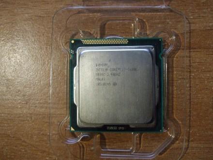 Легендарный intel Core I7-2600K с припоем под крышкой. Одесса. фото 1