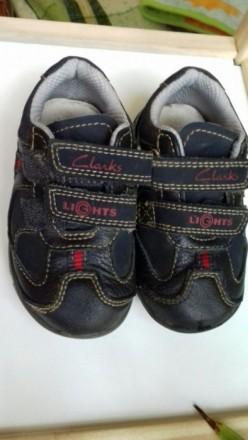Демисезонные кожаные кроссовки разм. 21,5. Одесса. фото 1