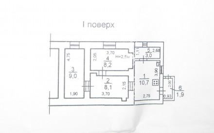 1/3эт, 41кв.м, комнаты разд, т/ванна, 2х конт.котел, все с окнами. Красивый шир. Приморський, Одеса, Одеська область. фото 4