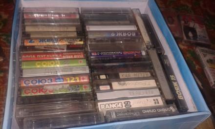 Продам аудио кассеты магнитофонные и видеокассеты Б/У .... Александрия. фото 1