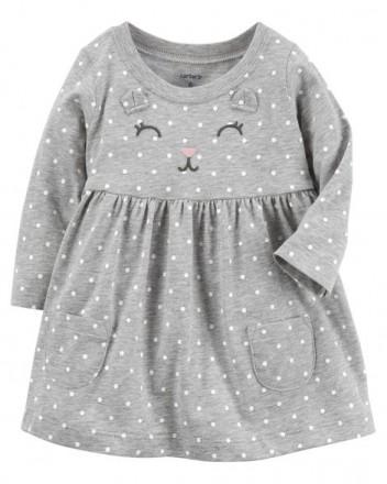 Продам новые платья с трусиками фирмы Картерс на девочку от 6мес до 2х лет. Бердичев. фото 1