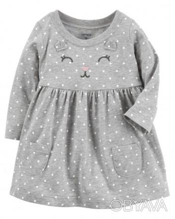 Продам новые платья с трусиками фирмы Картерс на девочку от 6мес до 2х лет : фо. Бердичев, Житомирская область. фото 1