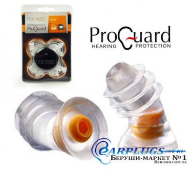 Беруши для производства, учёбы ProGuard Noizezz orange.. Киев. фото 1