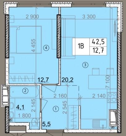 НОВАЯ квартира в НОВОМ доме в НОВОМ жилом комплексе на пл. Толбухина. Современны. Черемушки, Одеса, Одеська область. фото 3