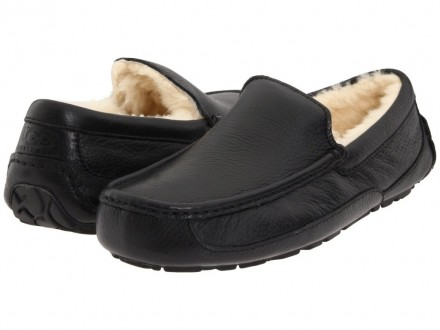 UGG Ascot Leather Black. Киев. фото 1
