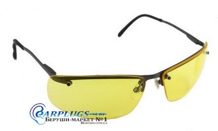 Очки для стрельбы Howard R-01771, желтые линзы, метал. USA.. Київ. фото 1