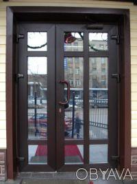 Металлопластиковые двери. Днепр. фото 1