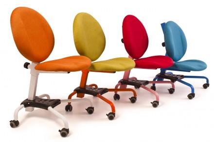 Кресло имеет две независимые регулировки. Регулировка высоты сидения позволяет п. Днепр, Днепропетровская область. фото 2