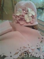 Шапочка+шарфик на девочку. Чернігів. фото 1