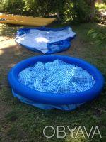 бассейн надувной,каркасный ремонт и изготовление. Киев. фото 1