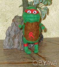 """Валяные игрушки """" Нинзя - черепашки """" будут отличным подарком всем кто вырос и п. Днепр, Днепропетровская область. фото 4"""