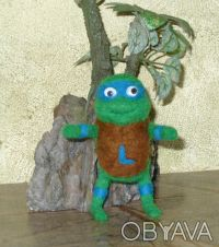 """Валяные игрушки """" Нинзя - черепашки """" будут отличным подарком всем кто вырос и п. Днепр, Днепропетровская область. фото 3"""