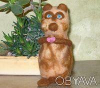 Авторская валяная игрушка выполнена из 100% кардочесанной новозеландской шерсти . Днепр, Днепропетровская область. фото 5