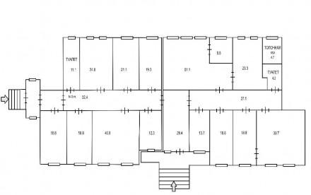 Сдам офисное помещения с благоустроенной охраняемой территорией на 1-вом. и 2-ро. Дзержинский, Харьков, Харьковская область. фото 7