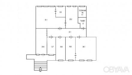 Сдам офисное помещения с благоустроенной охраняемой территорией на 1-вом. и 2-ро. Дзержинский, Харьков, Харьковская область. фото 9