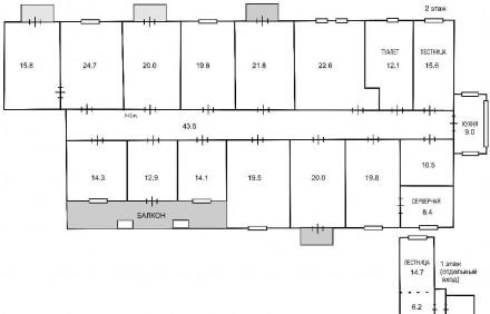 Сдам офисное помещения с благоустроенной охраняемой территорией на 1-вом. и 2-ро. Дзержинский, Харьков, Харьковская область. фото 10