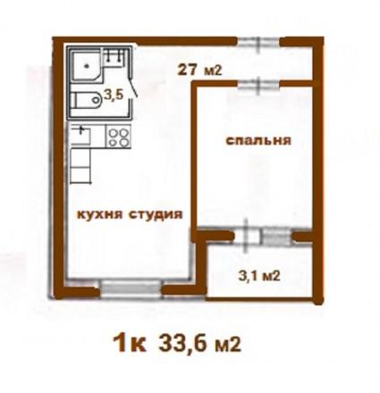 Ищете готовую 1-комнатную квартиру недалеко от метро за адекватные деньги? Вам . Теремки, Киев, Киевская область. фото 11