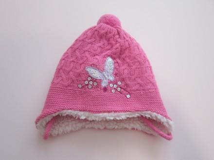 Зимняя шапочка для девочки 40-42. Киев. фото 1