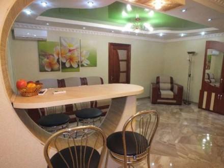 Аренда 2-х комнатной квартиры в центре города уютная квартира со свежим дизайнер. Черкаси, Черкаська область. фото 4