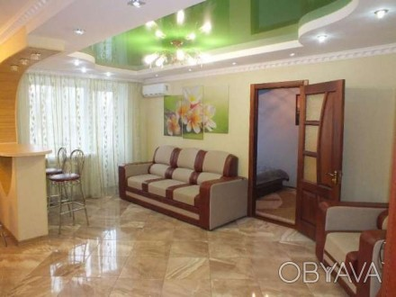 Аренда 2-х комнатной квартиры в центре города уютная квартира со свежим дизайнер. Черкаси, Черкаська область. фото 1