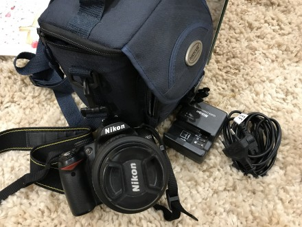 Фотоаппарат Nikon d 3000. Николаев. фото 1