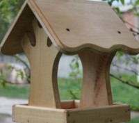 Деревянная кормушка под названием Дерево. Кормушка изготовленная из натурального. Чернигов, Черниговская область. фото 2