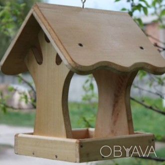 Деревянная кормушка под названием Дерево. Кормушка изготовленная из натурального. Чернигов, Черниговская область. фото 1