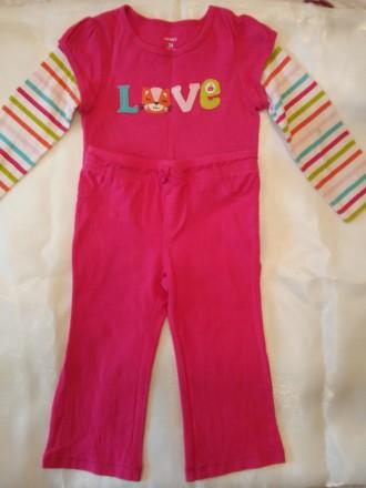 Продам костюмчик на дівчинку 2 роки фірми CARTERS. Нововолынск. фото 1