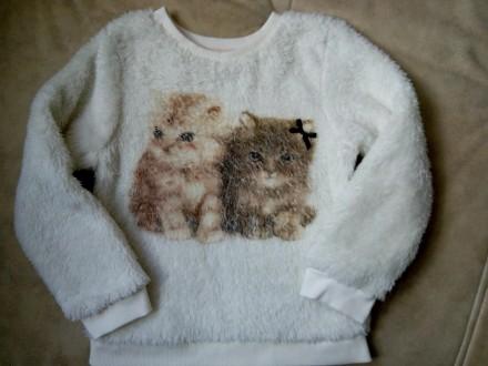домашний свитерок H&M девочке на 2-4 года рост 98-104см. Днепр. фото 1