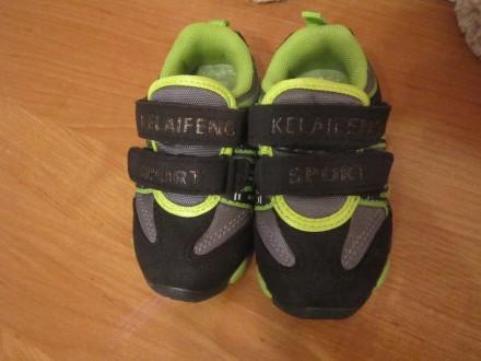 Симпатичные кроссовки для мальчика 21р.. Киев. фото 1