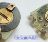 Резисторы переменные подстроечные СП 3-27. Светловодск. фото 1