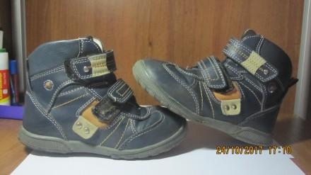 Ботинки демисезонные. Житомир. фото 1