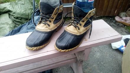 Ботинки для настоящих охотников рыболовов. Ирпень. фото 1