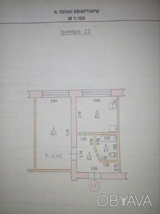 продам 1 комнатную квартиру. Квартира в хорошем состоянии,счетчики на (газ,свет,. ХБК, Херсон, Херсонская область. фото 1