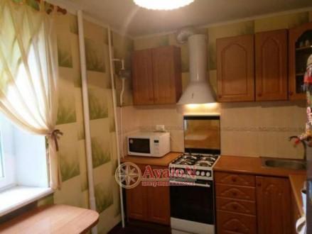 Предлагается отличная  квартира в доме из красного кирпича, МПО, большая застекл. Таірова, Одеська область. фото 4