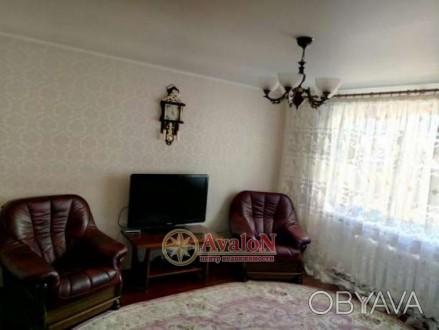Предлагается отличная  квартира в доме из красного кирпича, МПО, большая застекл. Таірова, Одеська область. фото 1