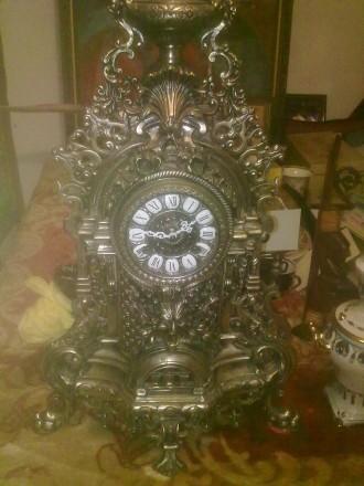 Часы старинные антикварные бронзовые в о\с. Херсон. фото 1