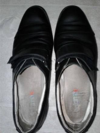 кожаные туфли школьнику. Кропивницький. фото 1