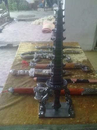 Коллекция 14 антикварных кинжалов (Хорошие копии из Китая). Херсон, Херсонская область. фото 5