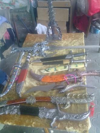Коллекция 14 антикварных кинжалов (Хорошие копии из Китая). Херсон, Херсонская область. фото 3