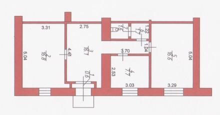 Характеристики:  • Перший поверх • Окремий вхід • Площа - 61,1 кв.м. • Кабі. Луцьк, Волинська область. фото 3