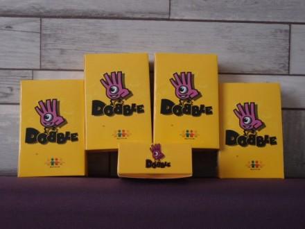 Распродажа !!! Доббль (Добль, Добл, Дабл, Dobble) карточная настольная игра. Харьков. фото 1