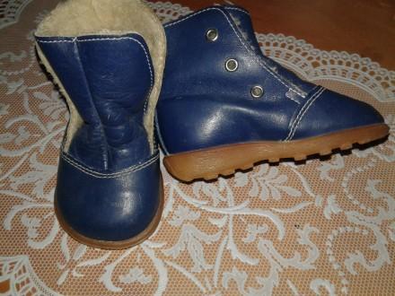 Утепленные Ботиночки для первых шагов для девочки или для мальчика в отл.сост.. Маріуполь. фото 1