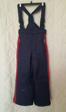 Зимние лыжные штаны брюки полукомбинезон Byte рост 116. Житомир. фото 1
