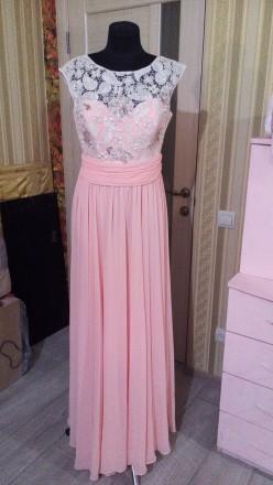 Очень Очень красивое платье нежно розовое. Ирпень. фото 1