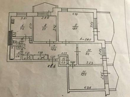 Продается квартира на Добровольского. Квартира перестроена в 3 комнатную, лоджии. Суворовське, Одеса, Одеська область. фото 3