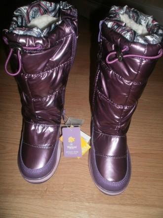 Дитячі фіолетові чоботи - купити взуття для дітей на дошці оголошень ... 8656b166ab837