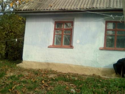 Продам дом в центре села, глинобитный. Есть летняя кухня, сарай, погреб. Рядом г. Стуфчинці, Хмельницька область. фото 4