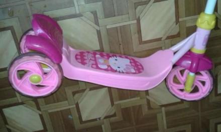 Міцний Скутер-самокат Hello Kitty китайського виробника YaYa - це стильний дизай. Трускавец, Львовская область. фото 3