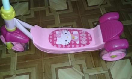 Міцний Скутер-самокат Hello Kitty китайського виробника YaYa - це стильний дизай. Трускавец, Львовская область. фото 2